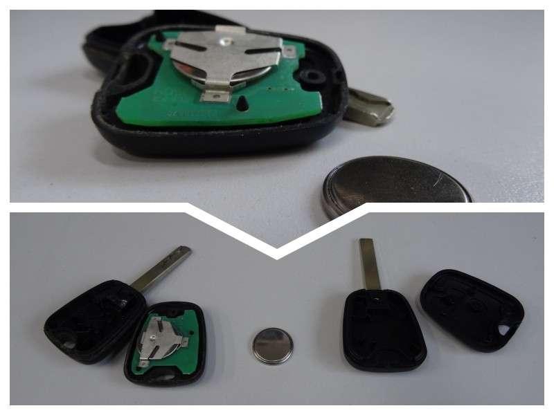 Батерии за ключ. Подмяна на батерии_3