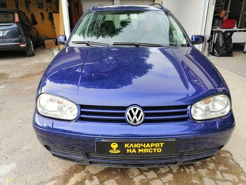 Обучение дистанционно Volkswagen Golf 4